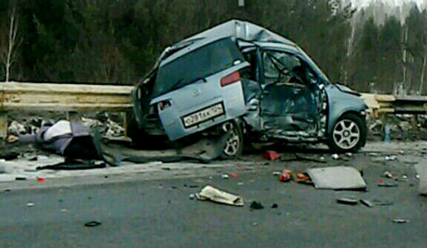 Две жуткие автокатастрофы под Красноярском унесли 7 жизней