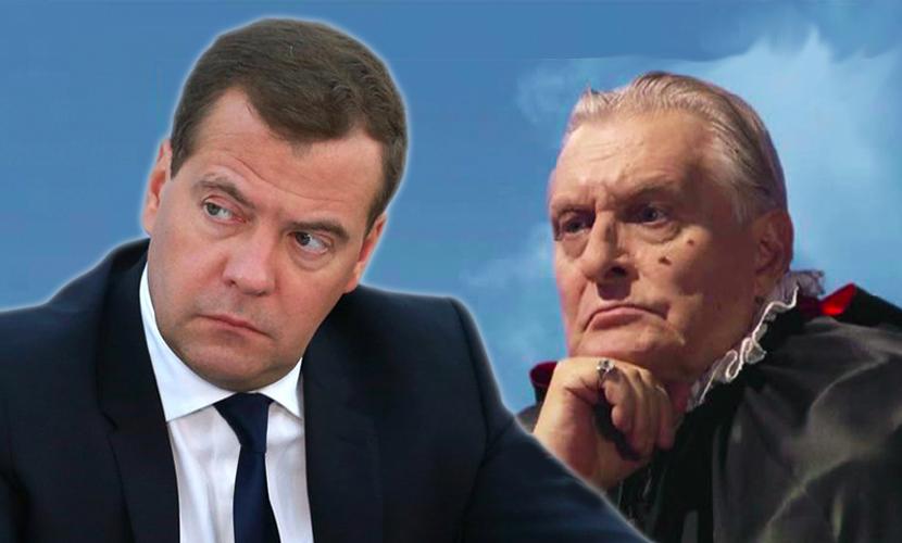 Медведев процитировал сатану из