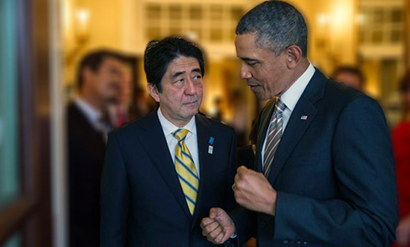 Обама лично уговаривал премьера Японии не встречаться с Путиным до мая