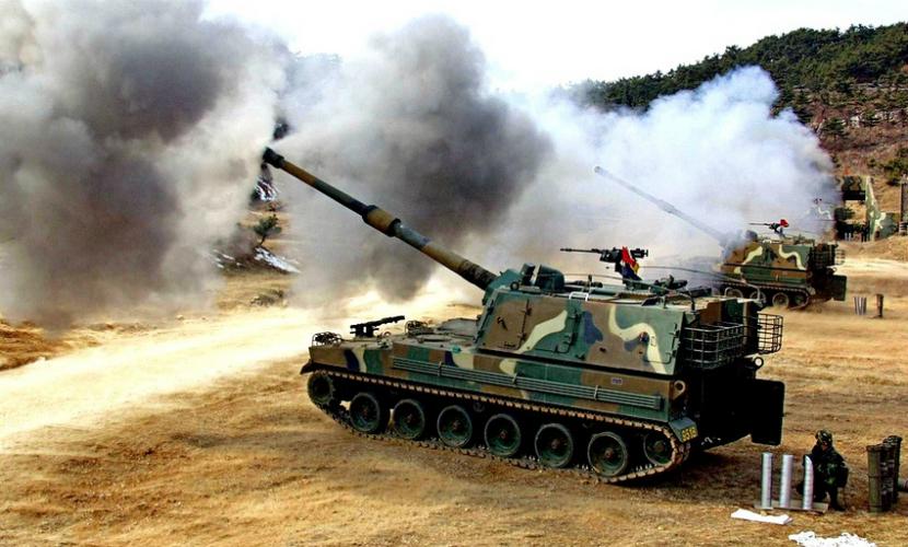 Турция обстреляла позиции армии Сирии