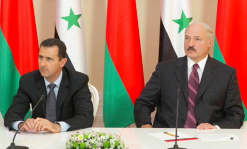 Лукашенко поддержал Асада и предложил развивать дружбу между Белоруссией и Сирией