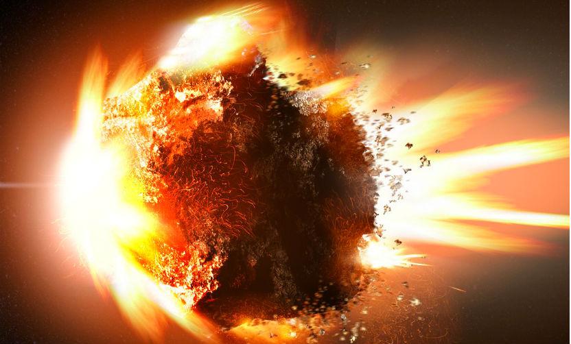 Опубликованы фото и видео стыковки НЛО с астероидом