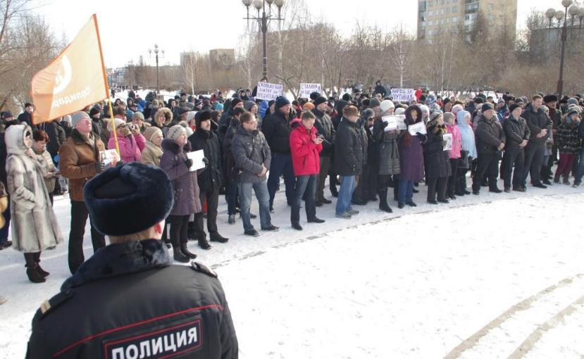 Организатора шествия памяти Немцова похитили в Красноярске
