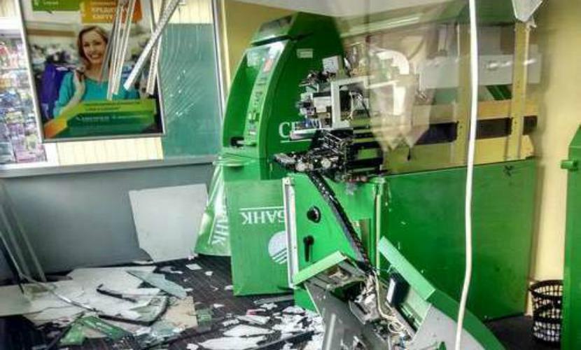 Очередной банкомат Сбербанка взорвали в Улан-Удэ
