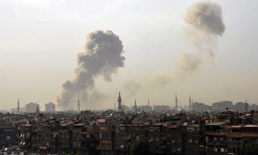 Террористы взорвали автомобиль на овощном рынке на севере Дамаска - есть жертвы