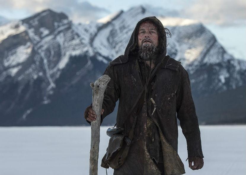 """Леонардо Ди Каприо сыграл в фильме """"Выживший"""" охотника, которого бросили умирать товарищи."""