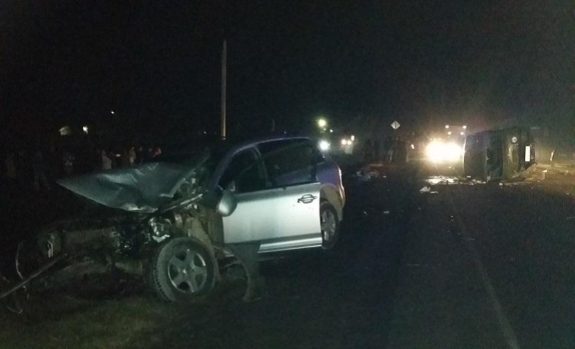 В крупном ДТП на Кубани пострадали 13 человек