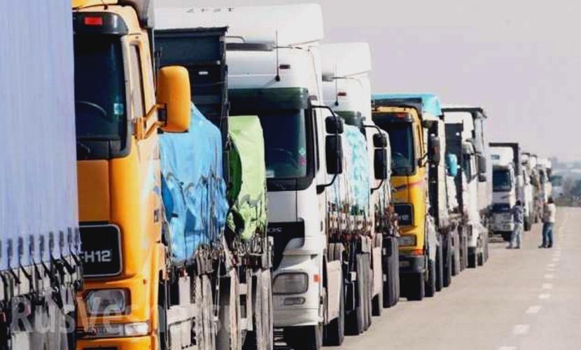 Украина сняла блокаду на границе с Белоруссией и начала пропускать российские большегрузы