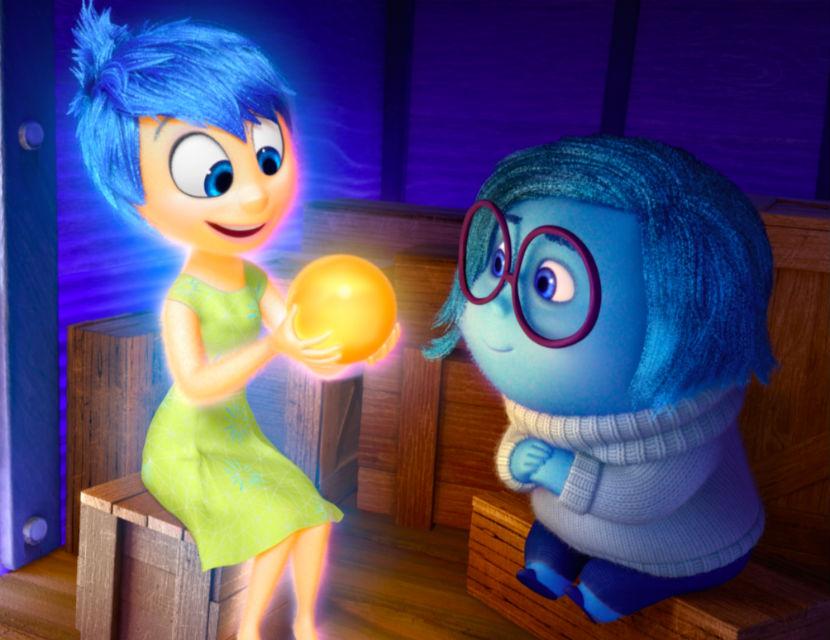 Картинки радость из мультфильма головоломка