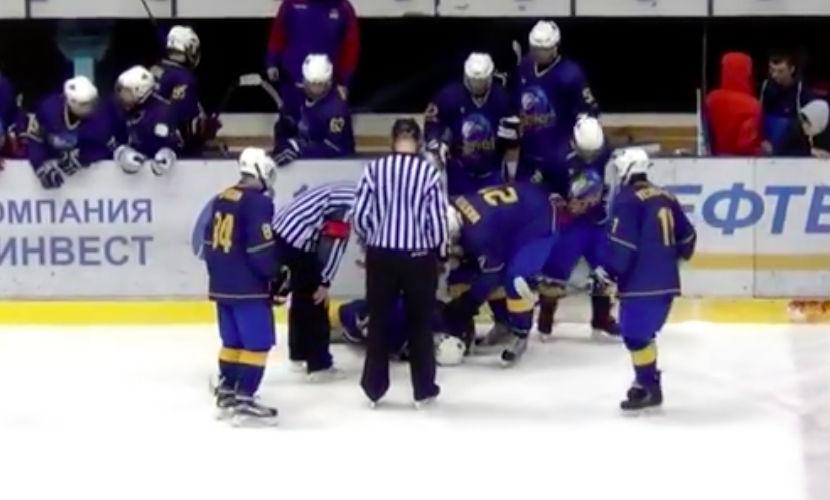 Белорус спас украинца от трагической гибели во время хоккейного матча в Минске