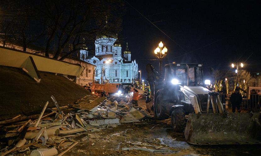 РПЦ хочет построить церкви на месте снесенных ларьков