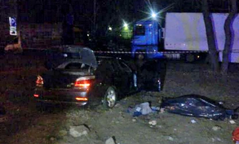 Опубликовано видео резонансной погони с убийством Медведева киевской полицией