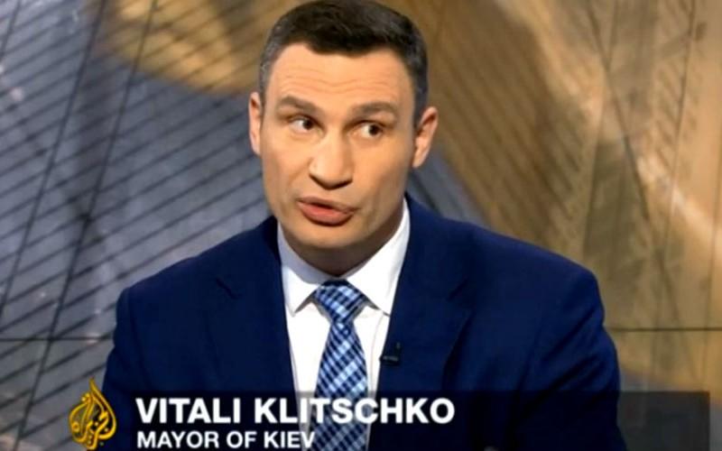 Виталий Кличко ответил на обвинения иностранцев новым перлом: «Простите, я с Украины»