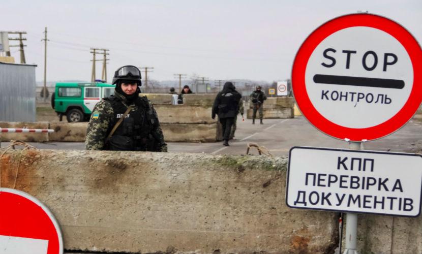 На границе Украины с Крымом появились активисты в турецкой военной форме