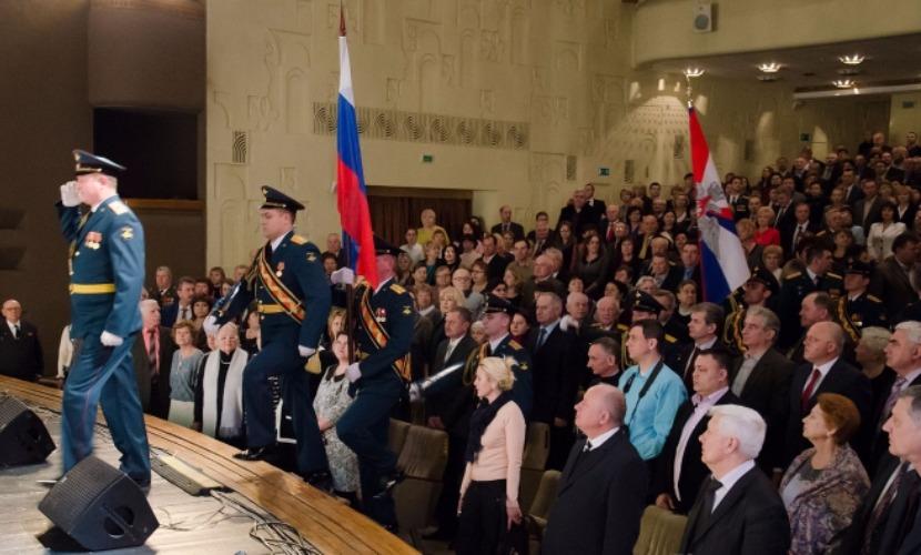 Курский школьник во время праздничного собрания к 23 февраля крикнул