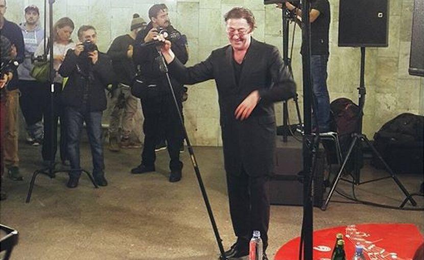 Григорий Лепс устроил неожиданный концерт в московском метро