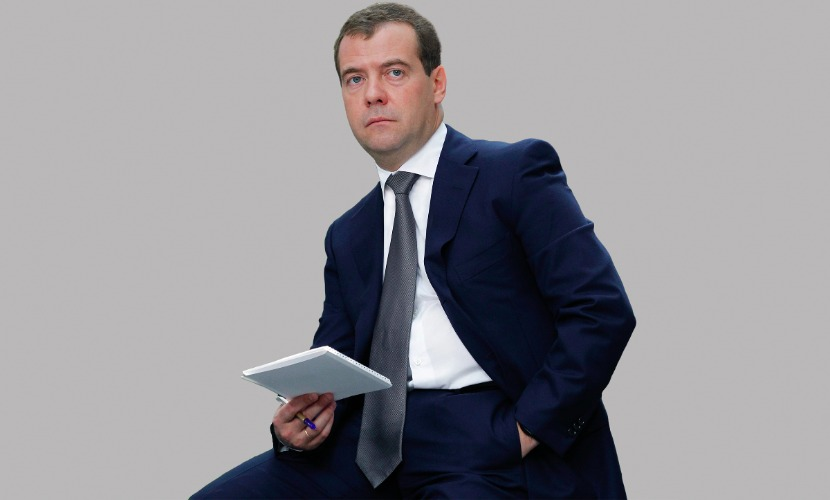 Медведев увидел рекламу фильма