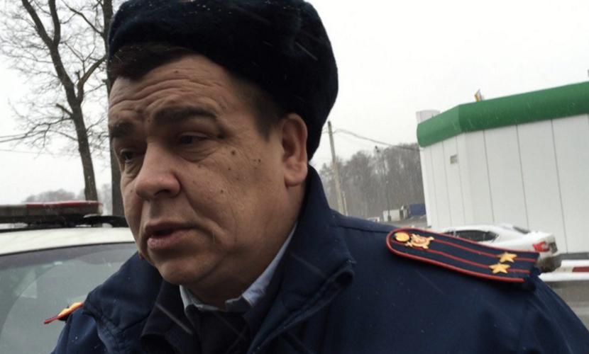 Яшин проинформировал о блокировании его машины сотрудниками ДПС наМКАД