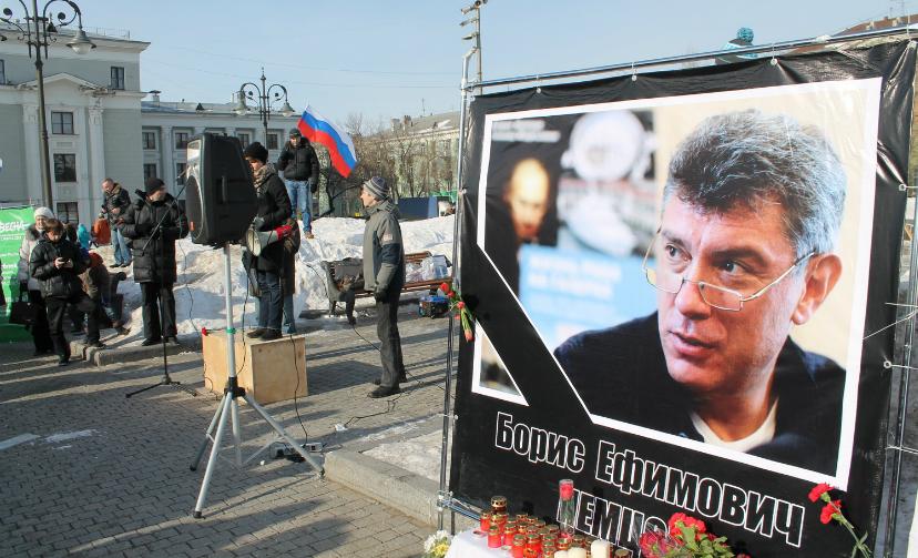 Многотысячный марш памяти Немцова согласовала оппозиции мэрия Москвы