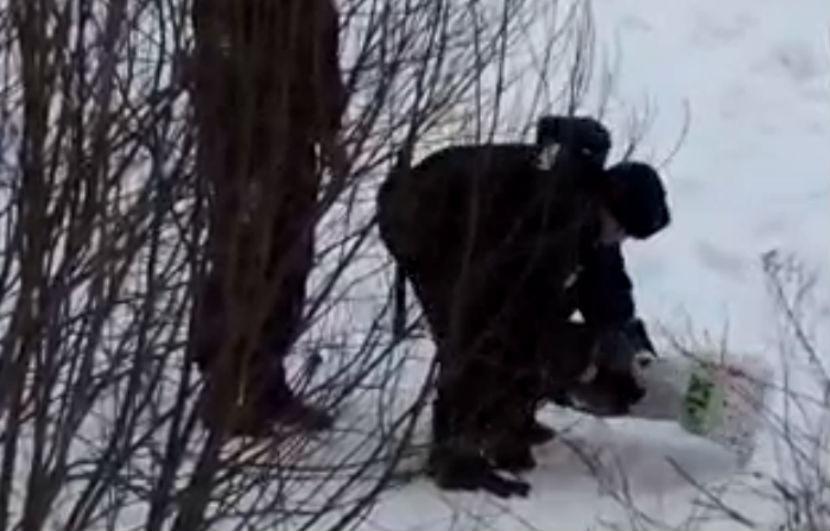 В московском парке нашли мертвого младенца, завернутого в полотенца