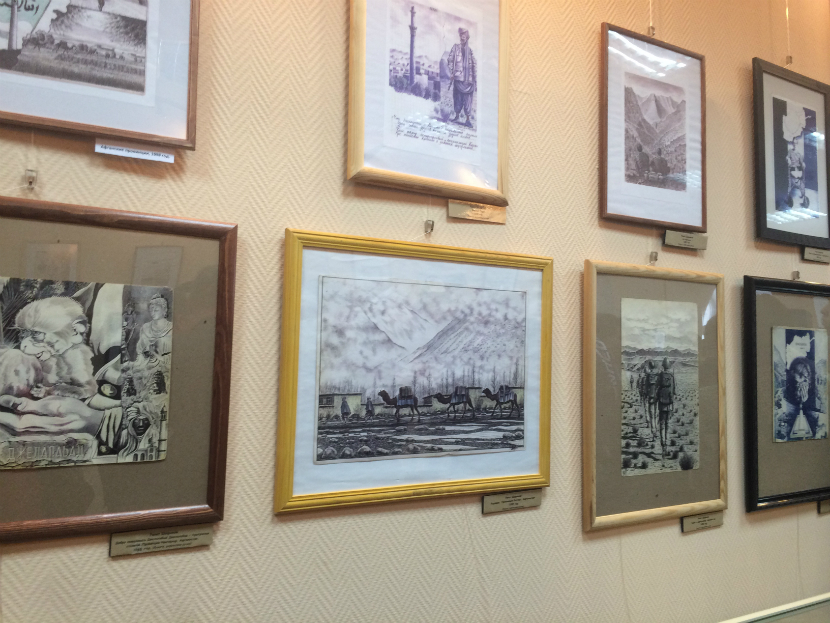 музей рисунки
