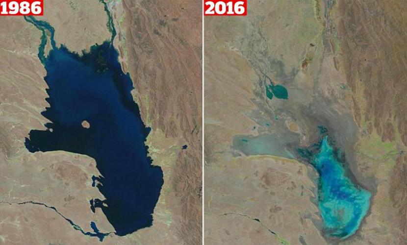 В Боливии загадочно исчезло гигантское озеро