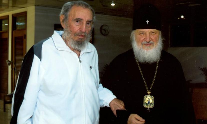 Лидер кубинской революции и патриарх завершили личную встречу
