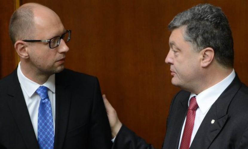 Порошенко решил отправить Яценюка в отставку, - СМИ Украины