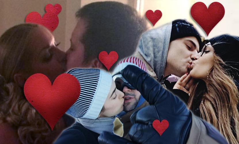 Топ-5 зимних поцелуев звезд, которые вдохновят вас в День святого Валентина
