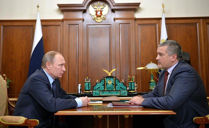 Аксенов сообщил Путину о потере полумиллиарда рублей в Крыму