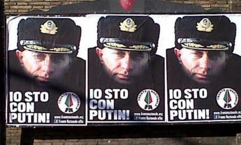 Итальянцы признали Путина самым влиятельным политиком в 2015 году
