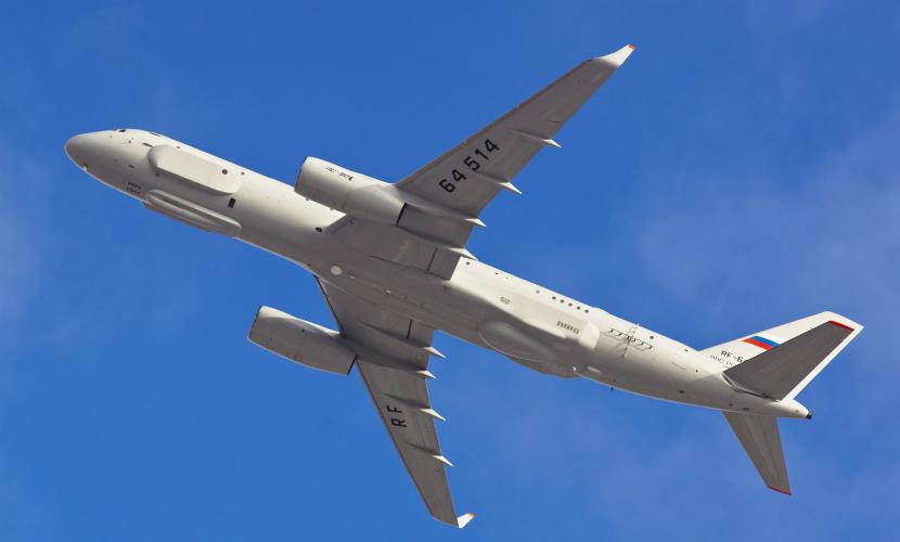 США боятся, что РФ использует «продвинутый» самолет-разведчик в Сирии