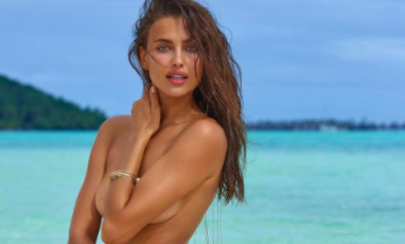 Ирина Шейк поразила сексуальностью на съемках для пляжного выпуска Sports Illustrated