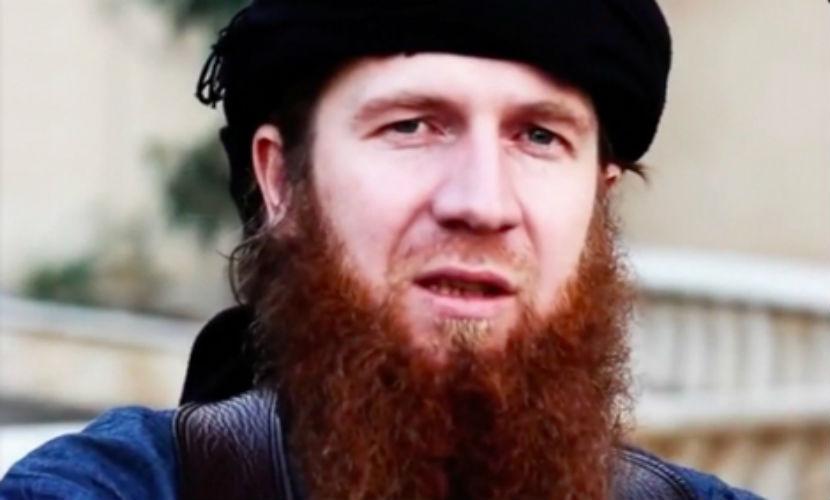 Чеченский боевик ИГИЛ Абу Умар аш-Шишани