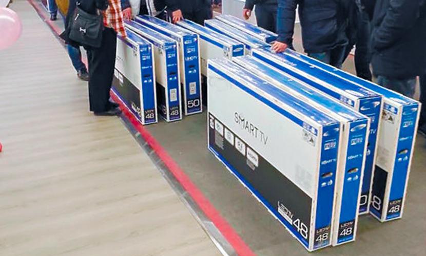 В России ожидается ажиотажный спрос на бытовую технику