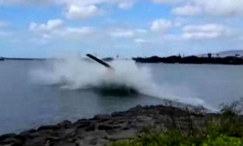 Вертолет с пятью туристами рухнул вблизи базы Перл-Харбор в США