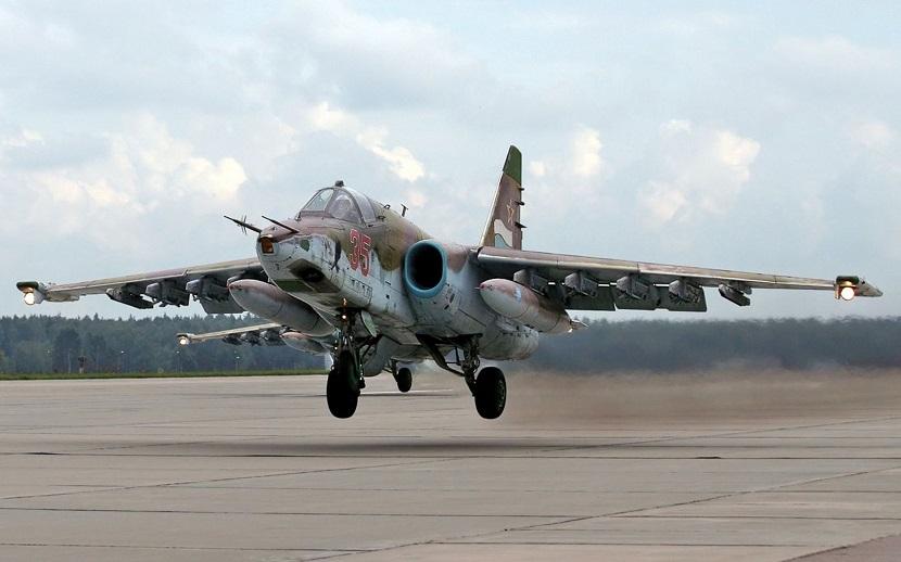 Летчик погиб при крушении Су-25 в Ставрополье