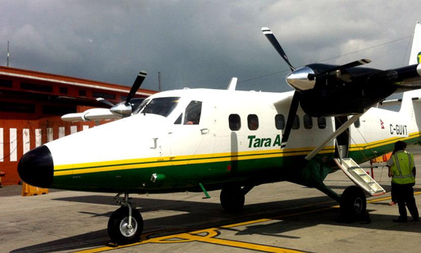 Самолет с 21 пассажиром на борту исчез с радаров в горах Непала