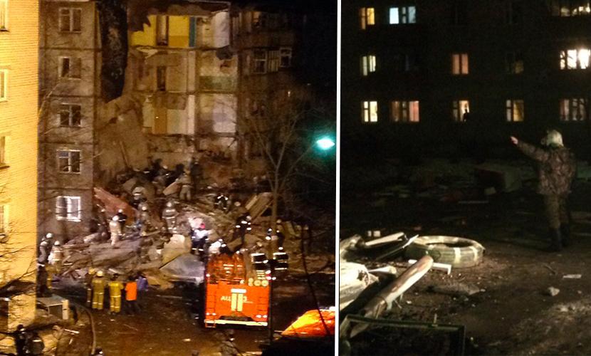 Тело первого погибшего достали из-под завалов рухнувшего дома в Ярославле