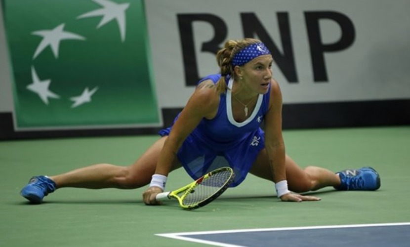 Российские теннисистки в Кубке Федерации позорно уступили голландкам в Москве