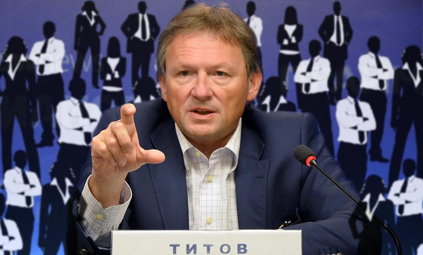Бизнес-омбудсмен Титов поведет «Правое дело» на думские выборы