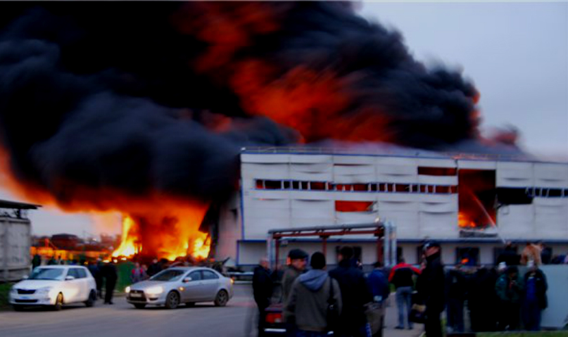 После взрыва на птицефабрике в Подмосковье произошел выброс 26 тонн хлора