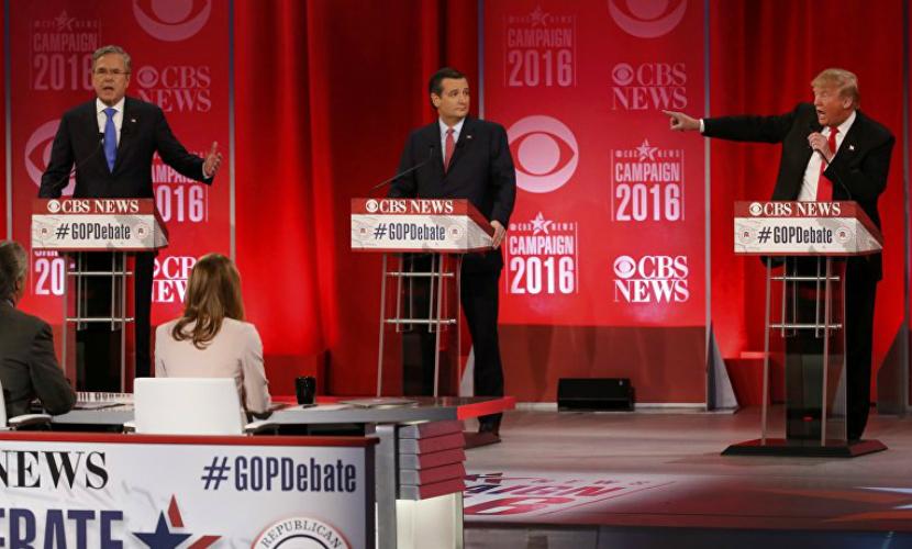 Трамп и Буш поссорились на дебатах из-за России