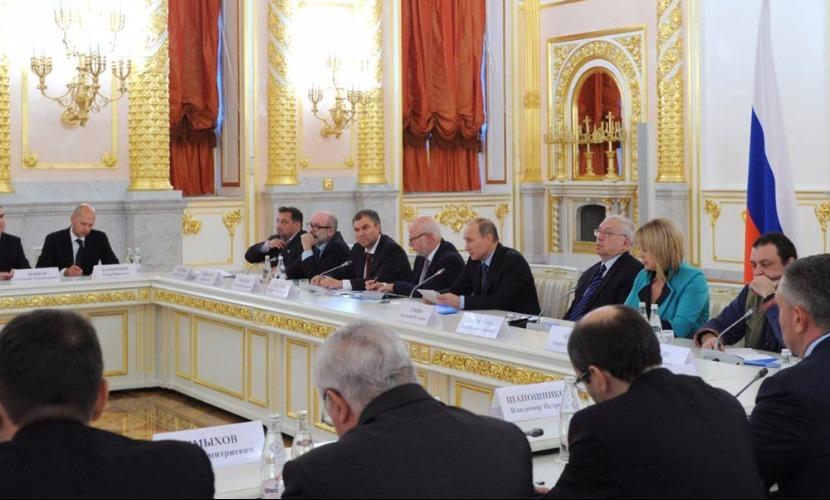 Путин убрал из состава совета по правам человека России семерых депутатов и общественников
