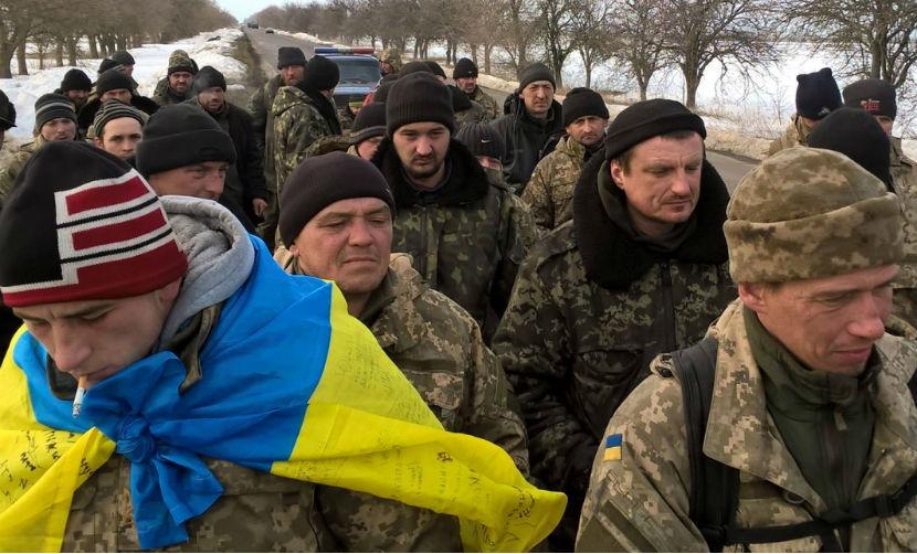 Вшивая и голодная 53-я бригада украинской армии пришла штурмовать военную прокуратуру