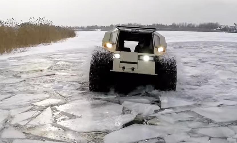 Видео испытания российского
