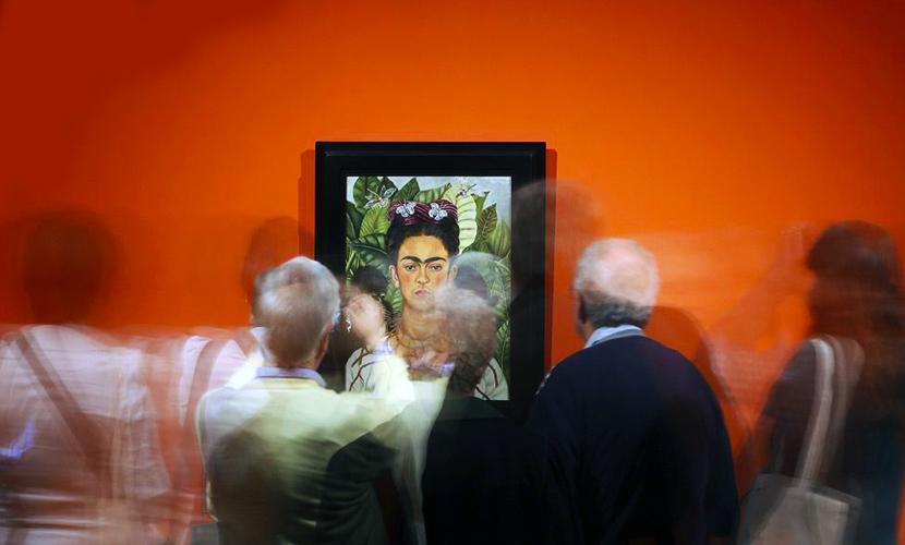 Картины несравненной Фриды Кало доставили в Питер на четырех самолетах