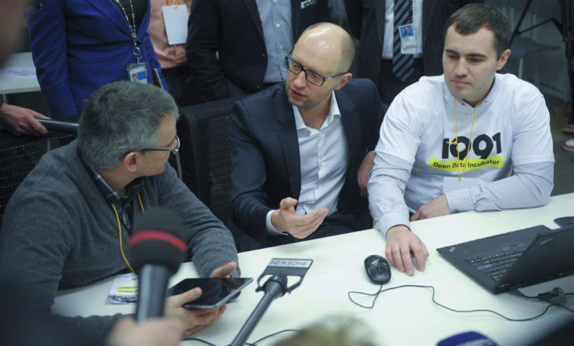 Интеллект приведет Украину к лидерству в Европе, - Яценюк