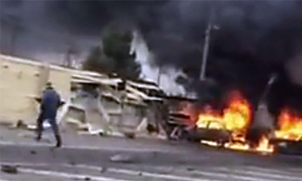 Полицейский погиб при новом взрыве возле поста ГИБДД в Дагестане