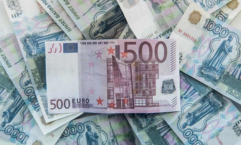 Центральный банк Европы укрепил рубль